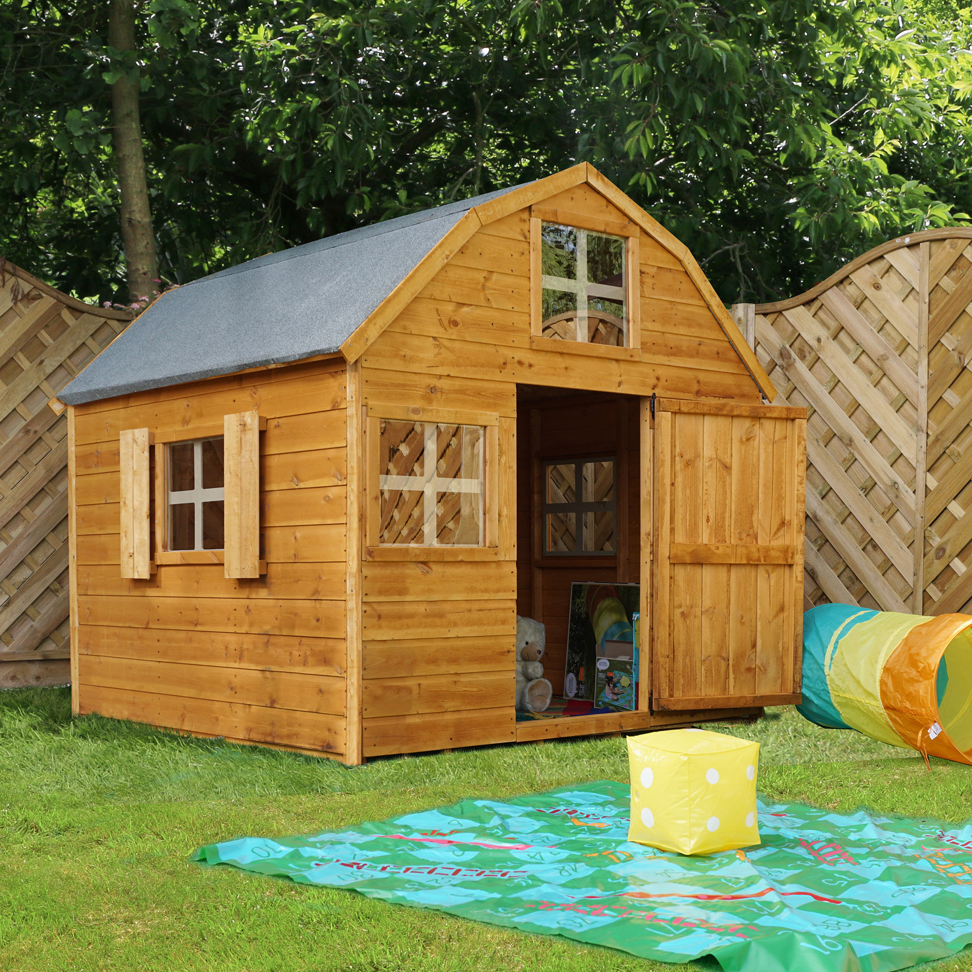 Childrens cabins Devon